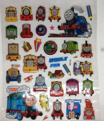 YH-026 3D THOMAS & FRIENDS 3D Bubble Reward Sticker Decal Label Children Kid UK