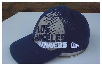 sports shoes 58859 41bb3 New Era Los Angeles Dodgers MLB Hat Ball Cap Stretch Fit 39 thirty size sm