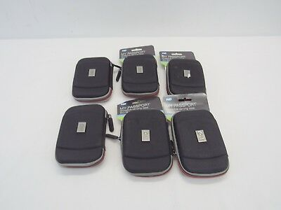Bulk(6) WD - Carrying Case for Select Passport Portable Hard Drives