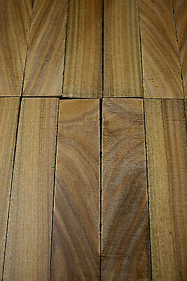 Lignum vitae / palo santo bookmatched knife scale / knife handle sets