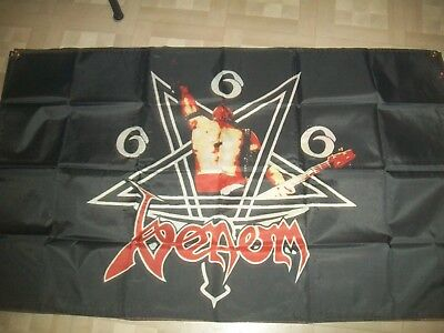 venom flag banner 5x3 ft just one slayer sodom kreator exodus metal