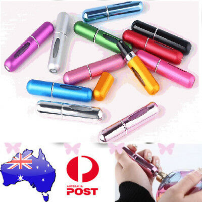 Perfume Atomiser Travel Portable Mini Refillable Bottle Scent Pump Spray