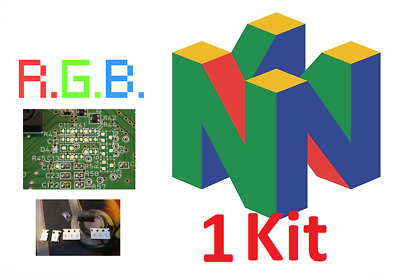 Kit modification RGB CMS Nintendo 64 N64 FRA officiel