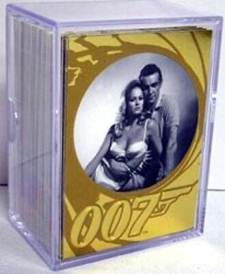 James Bond 50Th Anniversary Series 1 Base Card Set Plus Series 2 Promo Card