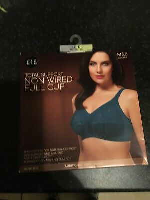 bcb9c93a8d M S MARKS   Spencer Total Support Non Wired Full Cup Bra Size 36F ...