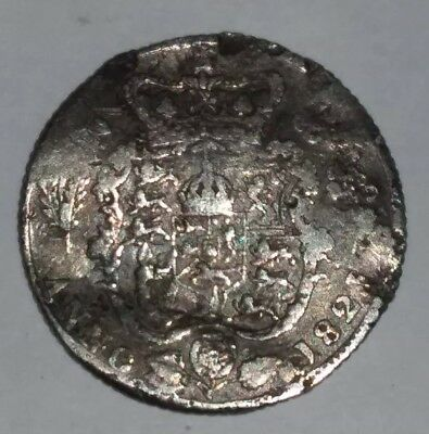 British Silver George  llll Anno 1823 Six Pence
