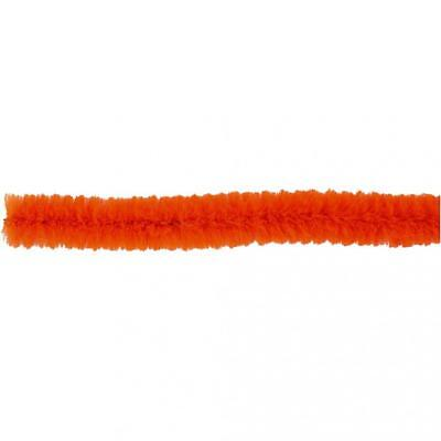 Pipe Cleaners, thickness 6 mm, L. 30 cm, 50 orange