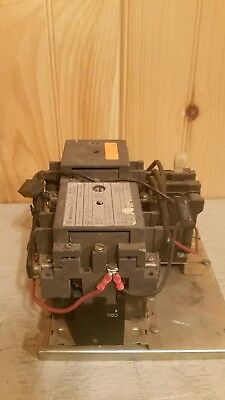 Westinghouse reversing contactor B210M1CAC 120V Coil 1366D25G01 B 10 HP overload