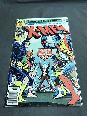 The X-Men #100 (Aug 1976, Marvel) Old Vs New Classic Cover