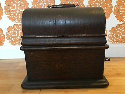 EDISON STANDARD CYLINDER Record PHONOGRAPH Model C Reproducer