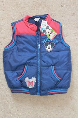 Boys Target size 4 Mickey Mouse Puffy Ves