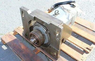 Hitachi-Seiki Hitac-Turn20SII Spindle Motor & Cradle