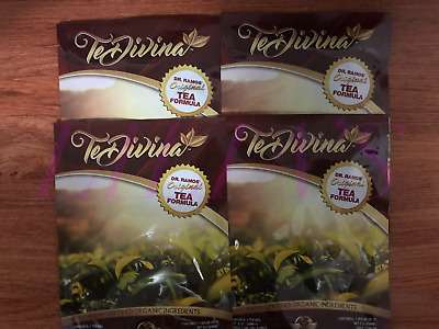 Te Divina ,Vida Divina Detox Tea, 4 week supply, 4 Bags,Weight Loss organic