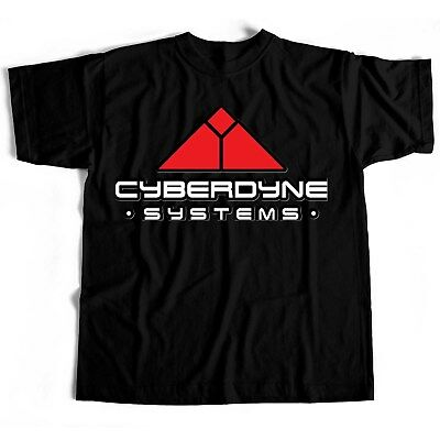 Cyberdyne Terminator Film Movie Classic Retro Novelty Horror Scary T Shirt