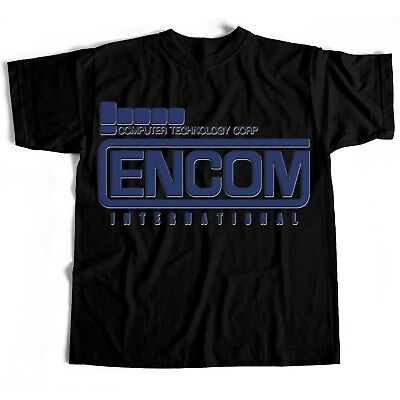 Tron Encom Film Movie Classic Retro Novelty Horror Scary T Shirt