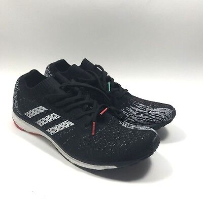 best sneakers f2035 aecb3 Adidas Adizero Prime Boost LTD Running Shoes CP8922 Mens Size 11 Black White