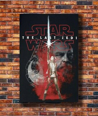 New Star Wars The Last Jedi Collector's Poster -14x21 24x36 Art Gift X-2681