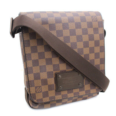 60d7362a8b38 Louis Vuitton N 51210 Brooklyn PM Shoulder Bag Damier canvas Women