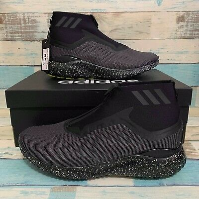 6a527764e NEW Adidas Alphabounce 5.8 Zip Running Black Men s Shoes Training Size 12