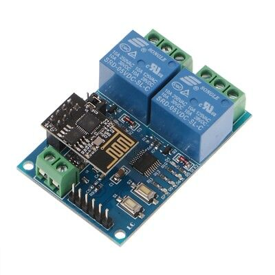 IOT APP Controller WIFI Relay Module ESP8266 2-Channel For Smart Home 5V