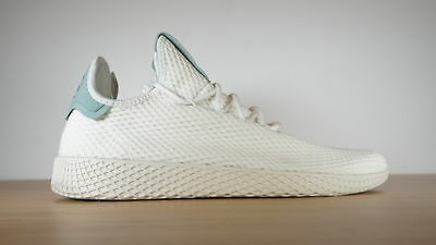 3984862f6b378 Adidas Originals Men s Pharrell Williams Tennis Hu Shoes Size 11 White  BY8716