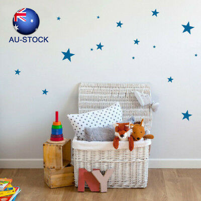 Star Wall Stickers Mural Home Room Window Decal Removable Creative Charm 110PCS