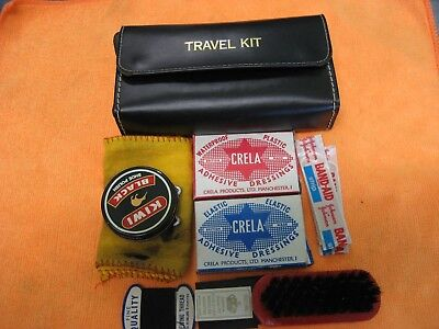 Vintage Travel Kit, Made in England, as is
