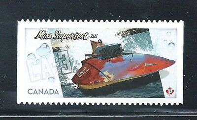 Canada #2487i Miss Supertest Die Cut From Annual Collection MNH *Free Shipping*