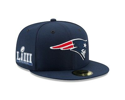New England Patriots New Era Super Bowl Llll Bound On-Field 59FIFTY Fitted Hat