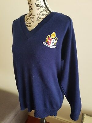 Overnewton Anglican College Size 18, 100cm boys jumper