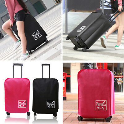 """Travel Luggage Cover Protector Elastic Suitcase Dustproof Bag Cover For 20""""-30"""""""