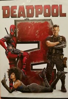 Deadpool 2 (DVD,2018) Brand NEW* Action, Comedy, FIRST CLASS FREE SHIPPING