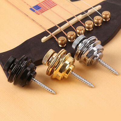 Guitar Strap Locks: Straplocks/Locking Buttons for Electric/Semi/Acoustic/Bass