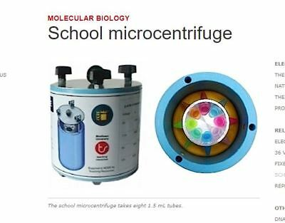 Micro Centrifuge by NCBE Molecular biology  Professional Lab Equipment 13,000rpm