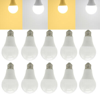 3W 5W 6W 7W 9W 12W 15W 18W 20W E27 B22 E14 LED Light Globe Bulb Energy Saving
