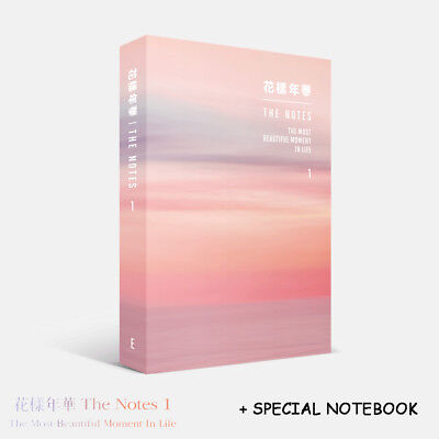 Bts  The Notes 1 (E)  [ The Most Beautiful Moment In Life 1 ] +Special Notebook
