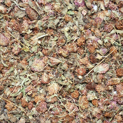 Dried Red Clover Flowers 100g - Rabbit & Guinea Pig Natural Botanical Food
