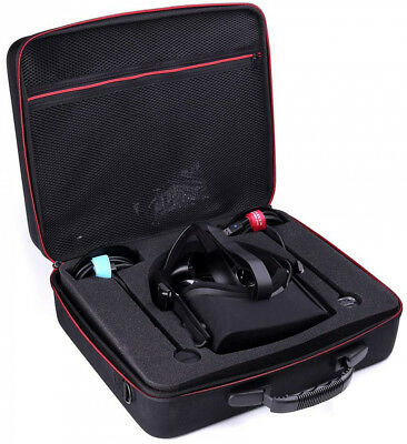 Hard Travel Case for Oculus Rift Touch Headset Protective Foam Storage Bag Black