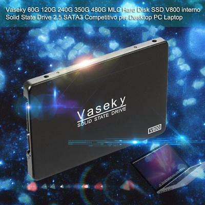 "Vaseky 2.5""500GB SATA SSD Internal Solid State Hard Drive SATA For Laptop PC lot"
