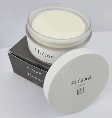 Fitjar Islands Holme Shaving Soap 100g in Plastic Tub - For Sensitive Skin