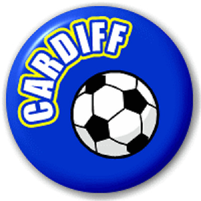 Cardiff Football – 25 Mm Pin Button Badge