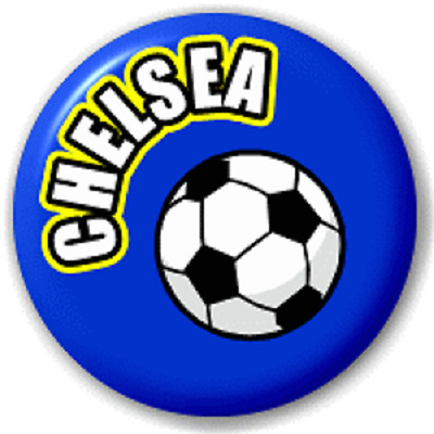 Chelsea Football – 25 Mm Pin Button Badge