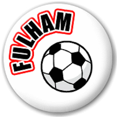 Fulham Football – 25 Mm Pin Button Badge