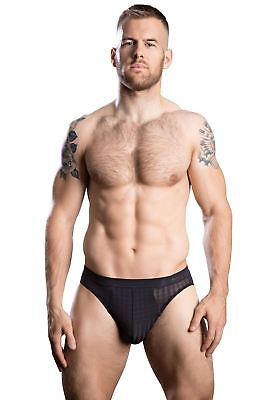 HOM Fith Comfort Micro Briefs men's underwear black bikini male slips silky sexy