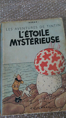 Tintin L'etoile Mysterieuse B1 1946 Pull Hadock 2 Couleurs