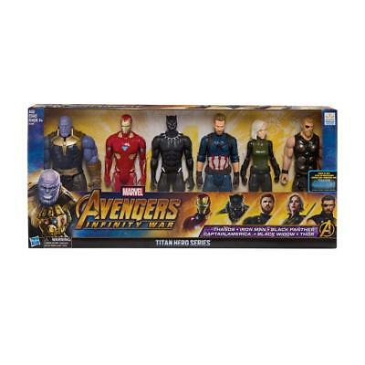 Marvel Avengers Infinity War Titan Hero Assembled Collection Figures 6 Pack