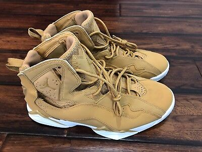 9cc6c0a58033 AIR JORDAN TRUE Flight Mens Sz 9 Golden Harvest Wheat -  80.00 ...