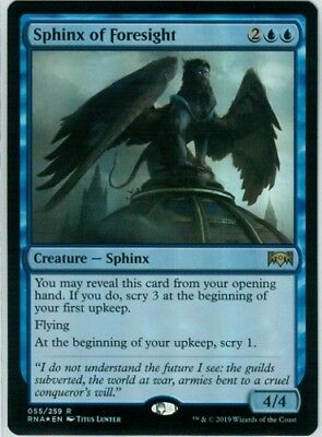 1X NM Sphinx of Foresight Ravnica Allegiance MTG Magic The Gathering
