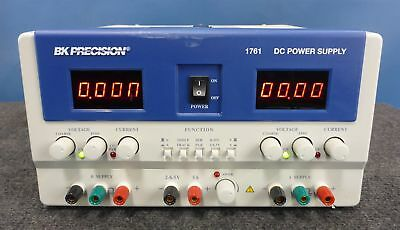 B&K Precision 1761 Triple Output DC Power Supply | 0-30V 0-3A | Load Tested