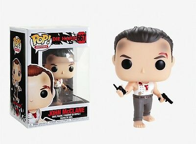 Funko Pop Movies: Die Hard - John McClane Vinyl Figure Item #34868